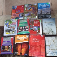 Form 1-3 used secondary school books.