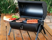 GIBSON DELWIN 5PC BARREL 14.75 BBQ SET, BLACK