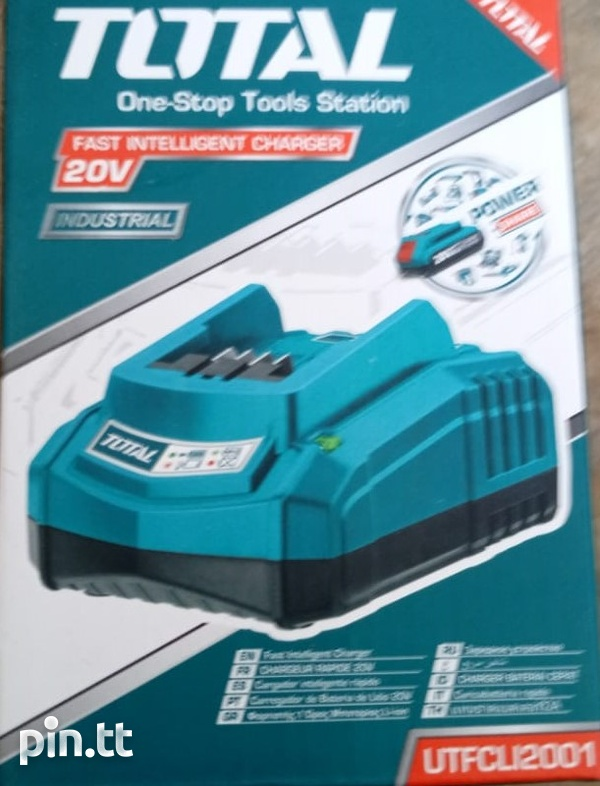 Total Cordless Rotary Hammer Drill-6