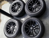 Ruff Racing Wheels with Michelin Tyres