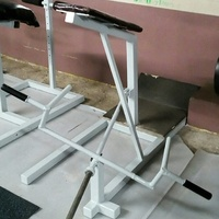 Supported T-Bar Row Machine