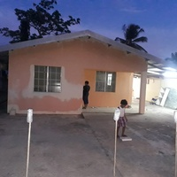 Tarouba 3 bedroom house being upgraded presently