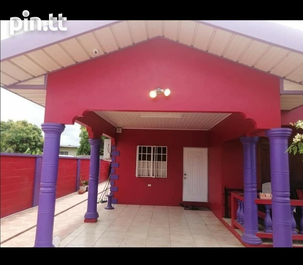 Chaguanas 3 Bedroom Unfurnished House-1