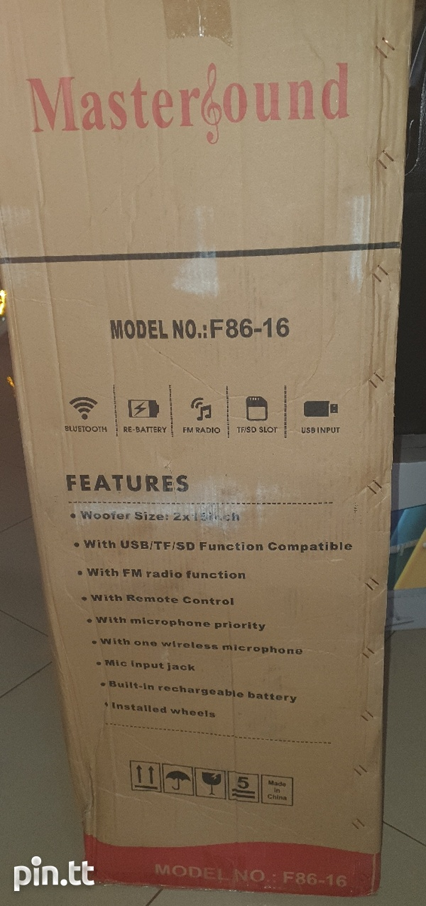 Subwoofer box, 2 - 15inch, new-3