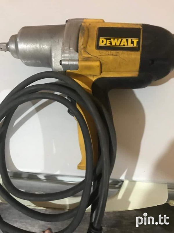 Launch Scan Tool and Dewalt Impact Wrench-1