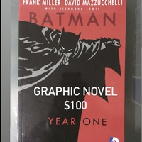 Batman Year One Graphic Novel