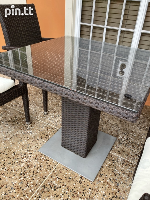 Wicker 5pcs Patio Set-2