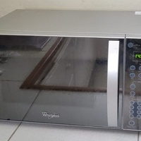 Whirlpool stainless steel microwave