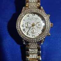 New Style, MK Womens Diamond Wristwatch