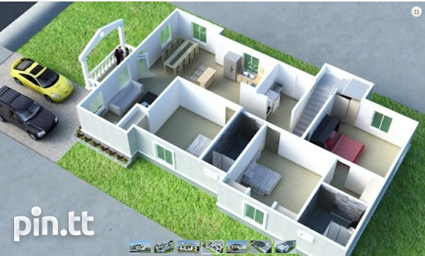 New 3 bedroom house in gated community in Chaguanas-5