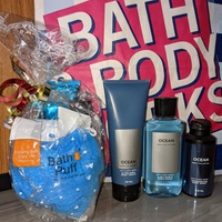 Valentine's gift packages Bath and Body Works