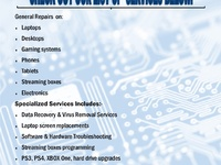IT services and repairs