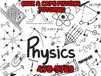 Personal tutoring for CSEC and CAPE Physics