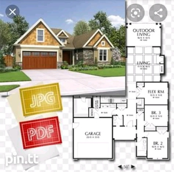 Building, receive free house plans-1