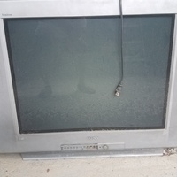 Sony Triton TV for parts in Curepe