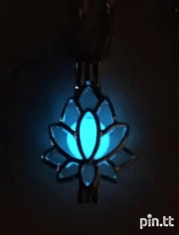 Lotus Necklace Glow In The Dark