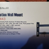 Magnum full motion wall mount