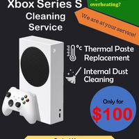 Xbox Series S Cleaning Service