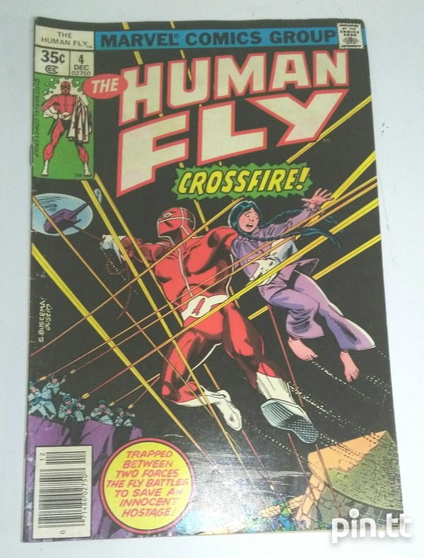 The Human Fly Comic Book Collection-4