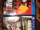 Red dead redemption and call of duty world war 2