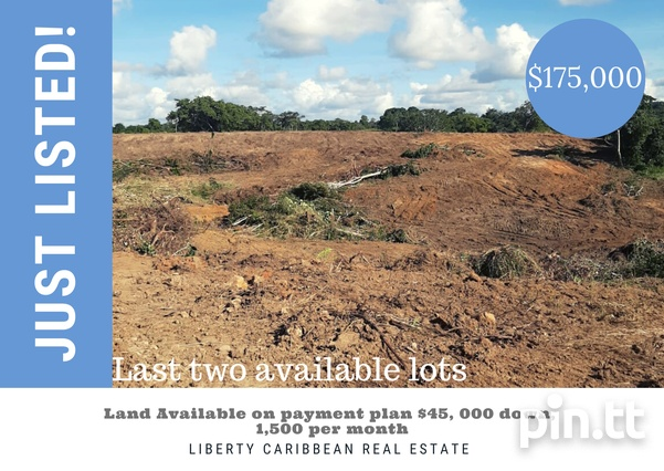 Payment plan Lots Available in Palmiste, Chaguanas.-1