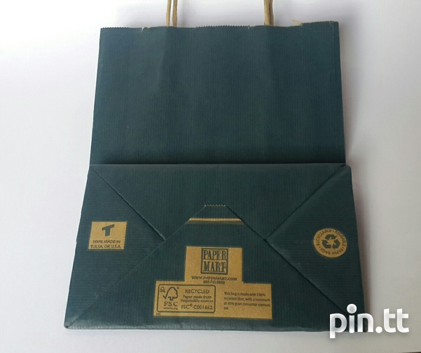24 Paper Mart Paper Gift Bags with rope handles.-2
