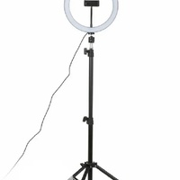 10inch ring light with tripod stsnd