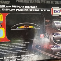 Digital display reverse sensors