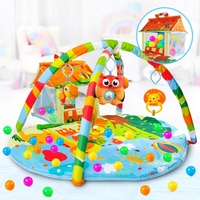 2-in-1 Play mat and ball pit