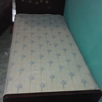 Bachelor bed with matress