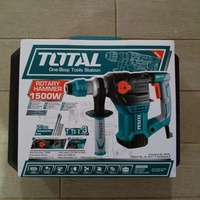 Total 1500W Rotary Hammer Drill