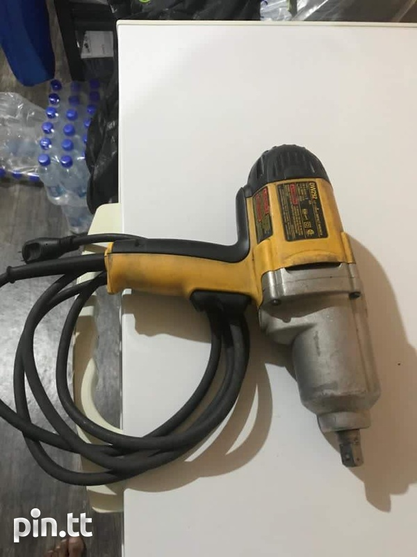 Launch Scan Tool and Dewalt Impact Wrench-3