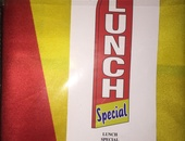 Banner Flag 7feet Lunch Special