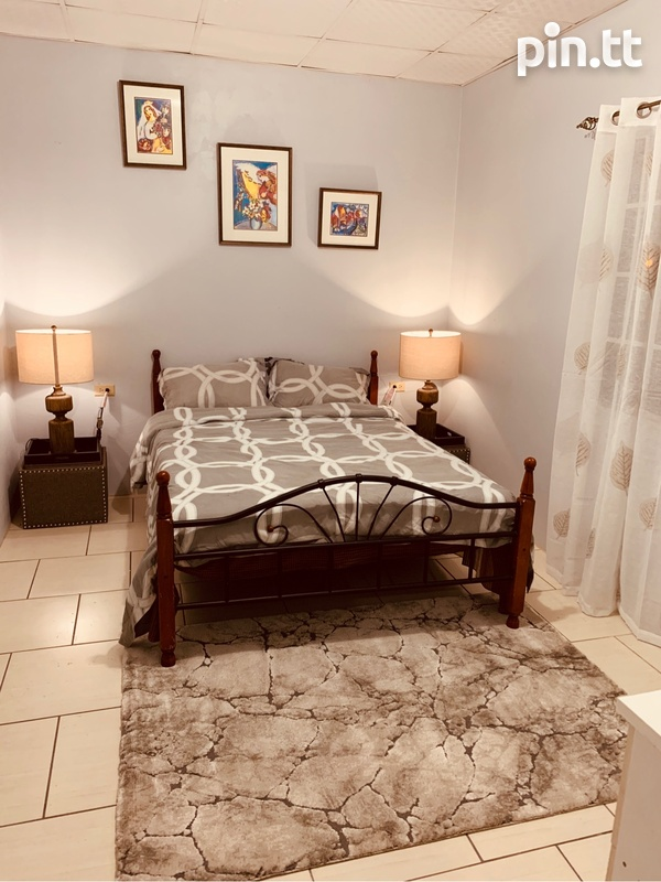 2 bedroom Trincity apartment, fully furnished, fully air conditioned-5
