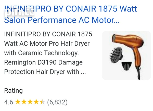 Conaire Blow Dryer | Used Good Condition-2