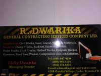 R.Dwarika General Contracting Services Co. Ltd