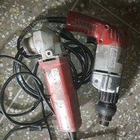 Two Milwaukee hand tools that can be repaired or used for spare parts