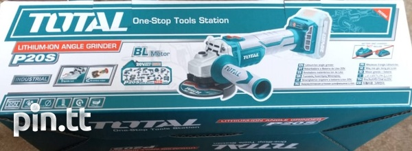 Total Cordless Angle Grinder-1