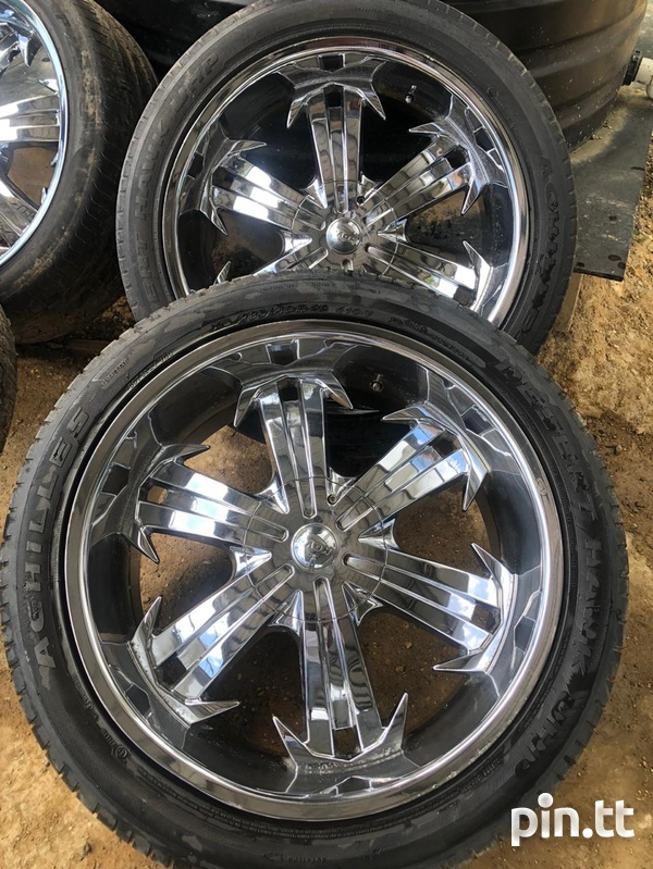 Rims and Tyres Good Condition-3