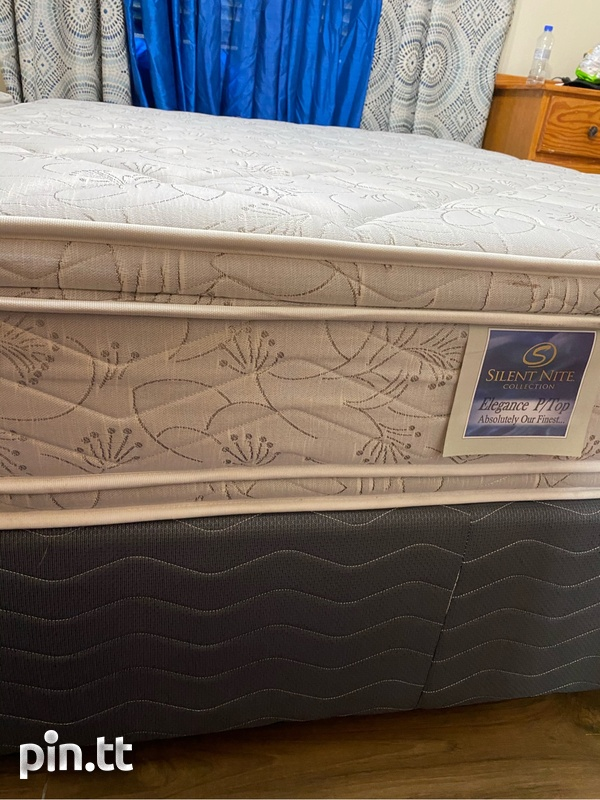 Queen Size Bed with Pillow-top Mattress-2