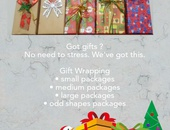 Diane gift wrapping service