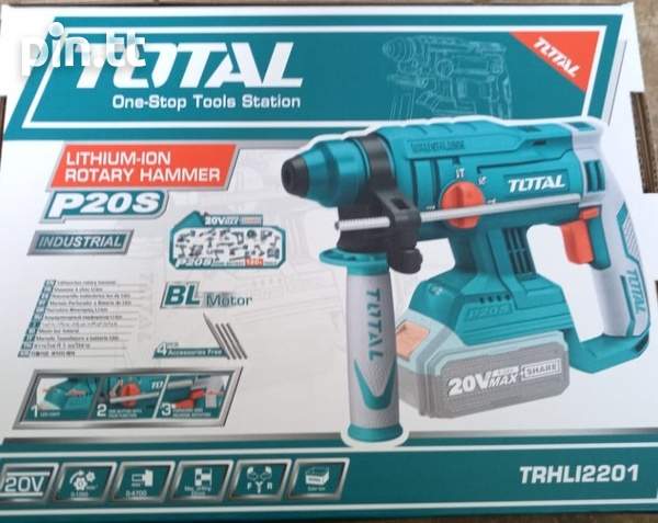 Total Cordless Rotary Hammer Drill-4