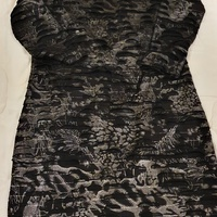 Black and Silver Women Dress