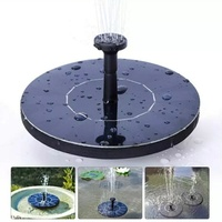 Mini Water Pump, Floating Solar Powered Fountain