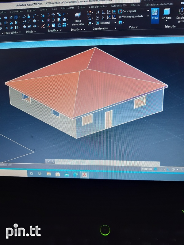 Designs and plans for houses in 2D and 3D-1