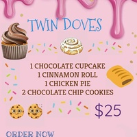 Twin dove Goodie boxes