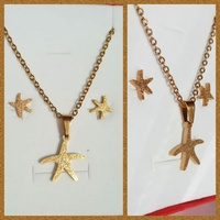 Gold plated stainless steel sets