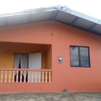 2 bedroom house on 1.5 acres of land.