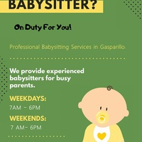 On duty for you babysitting services