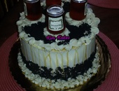 Alcohol infused cakes